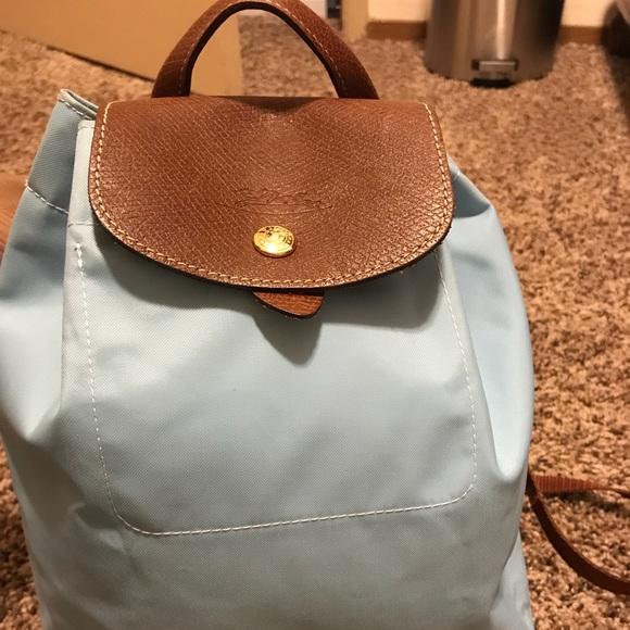 Longchamp Handbags - Longchamp Drawstring Backpack f4eb1c064e